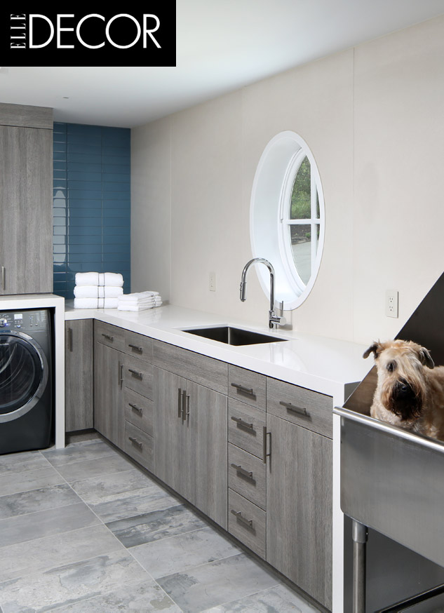 Laundry Room Elle Decor Trg Architects